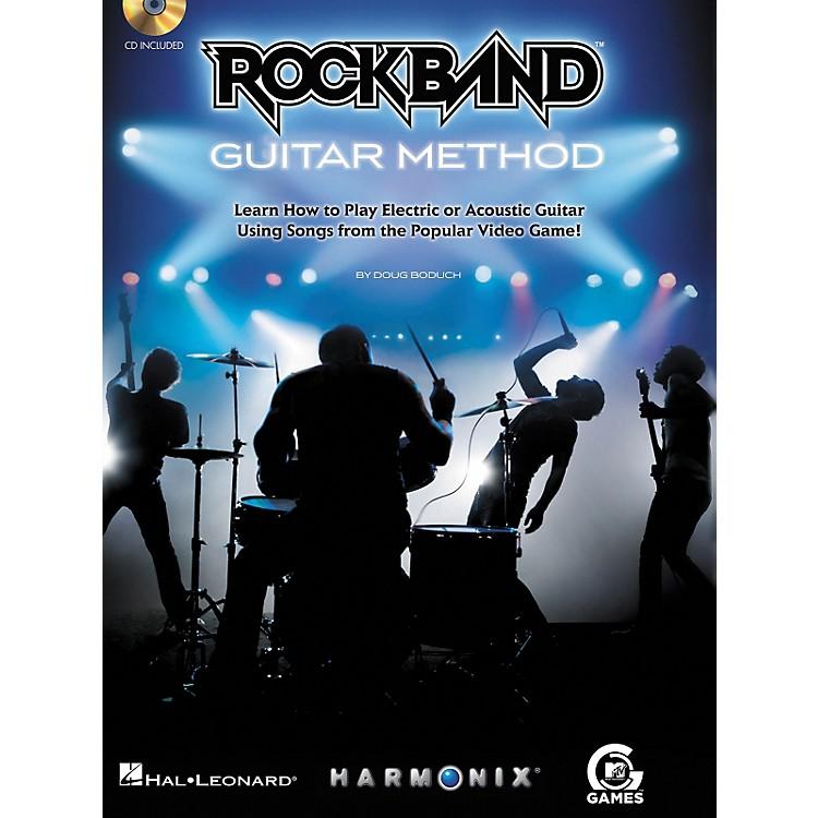 Hal LeonardRock Band Guitar Method - Book/CD