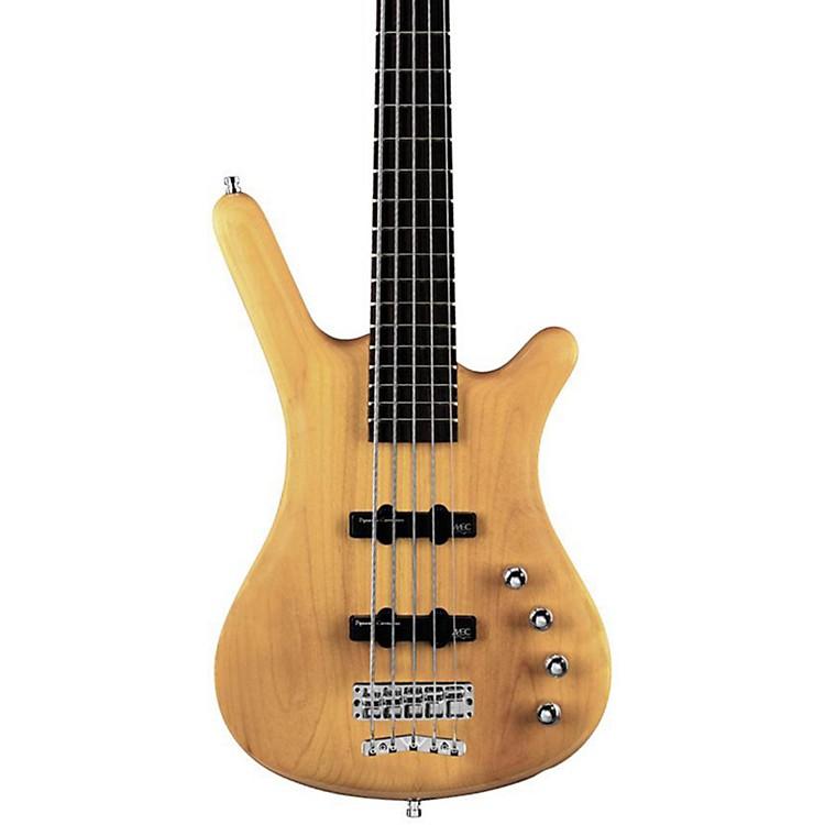 WarwickRock Bass Corvette Basic Passive 5-String Electric Bass GuitarNatural