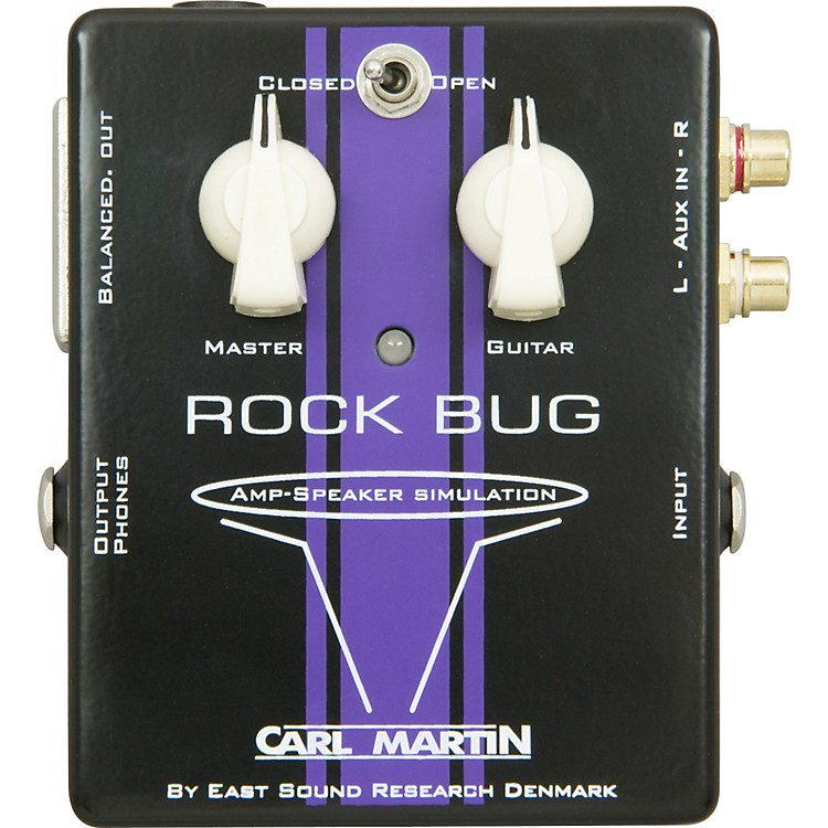 Carl Martin Rock Bug Headphone Guitar Amp and Speaker Simulator