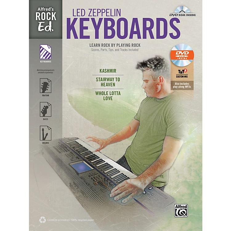 Alfred Rock Ed.: Led Zeppelin Keyboard Book & DVD-ROM