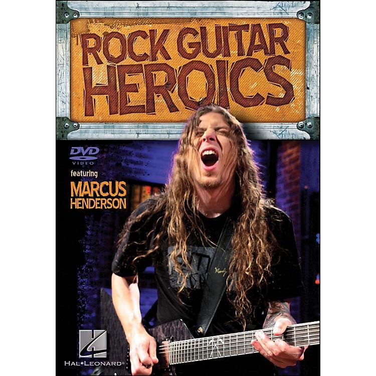 Hal LeonardRock Guitar Heroics Featuring Marcus Henderson (DVD)
