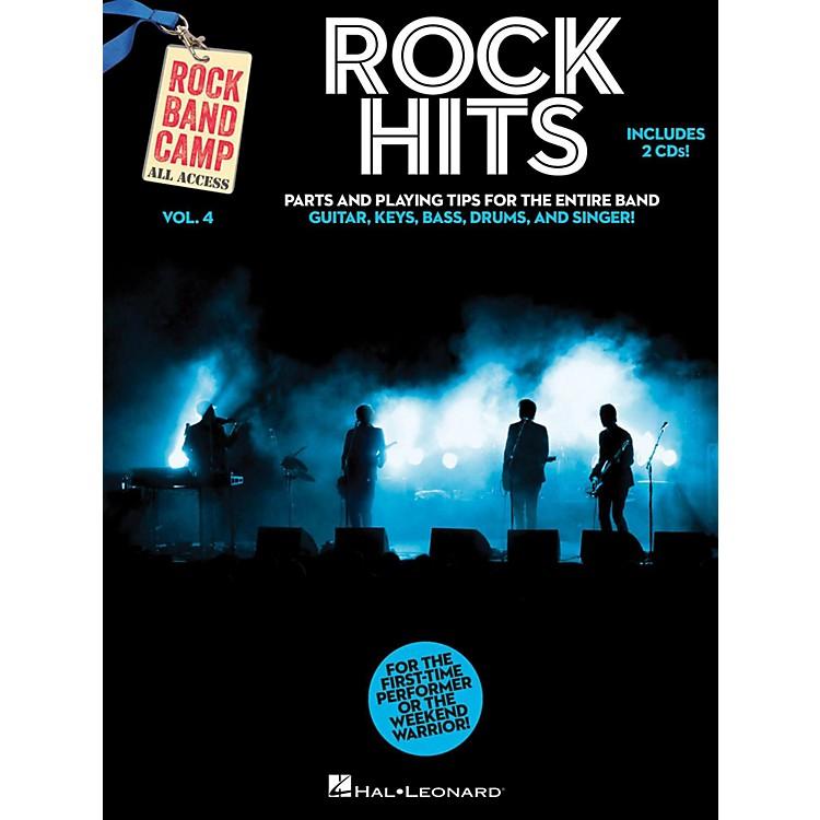 Hal LeonardRock Hits - Rock Band Camp Vol. 4 (Book/2-CD Pack) Vocal, Guitar, Keys, Bass, Drums