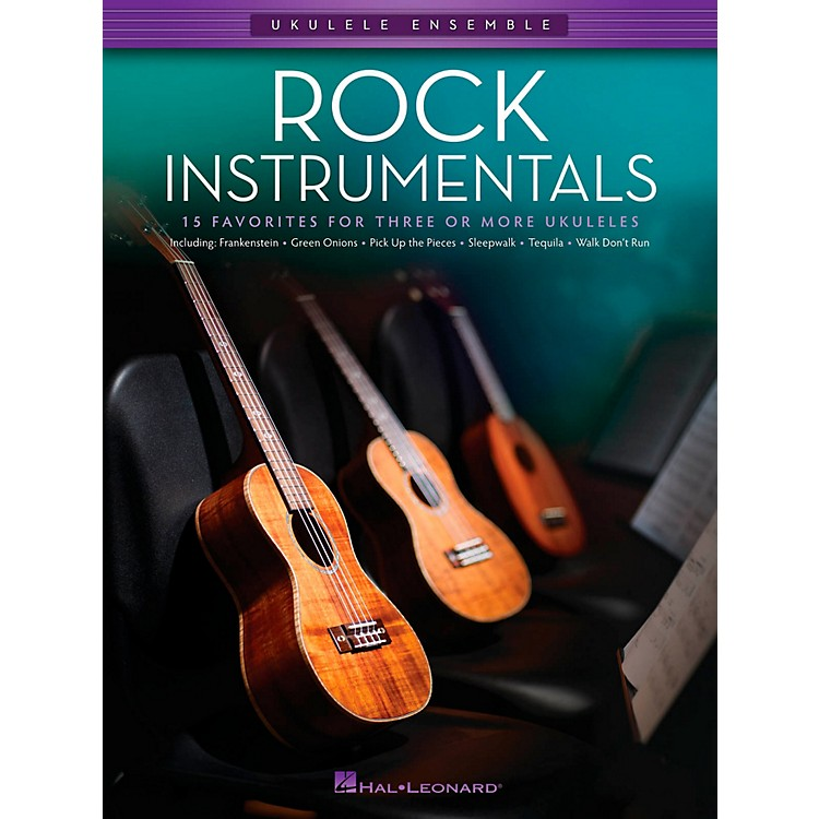 Hal Leonard Rock Instrumentals - Ukulele Ensemble Series Late Intermediate Songbook