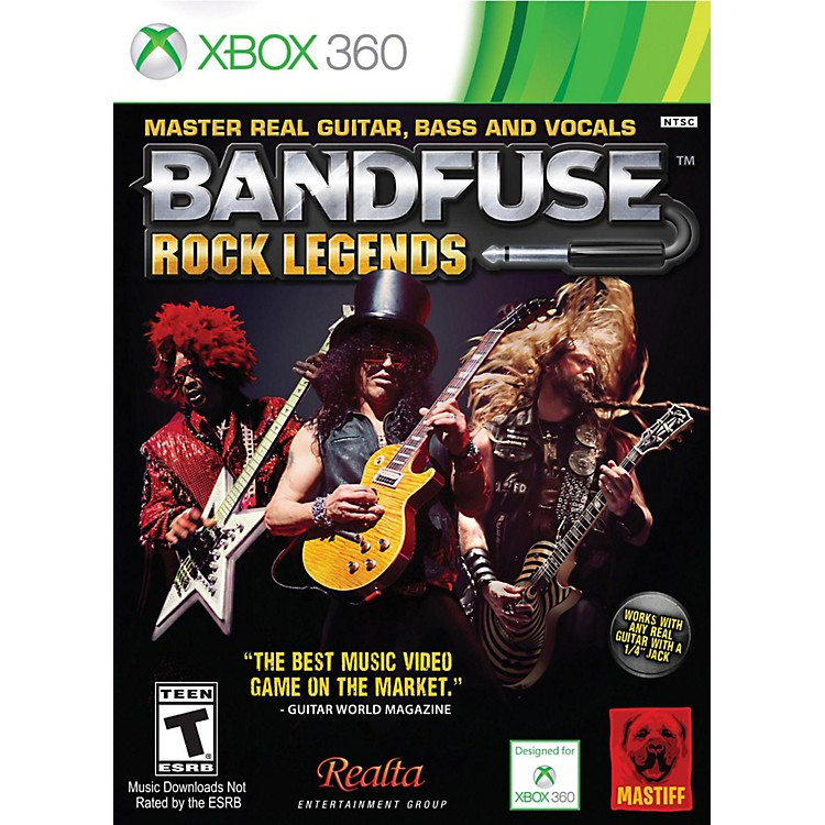 BandFuse Rock Legends Artist Pack for Xbox360 Artist Pack-US