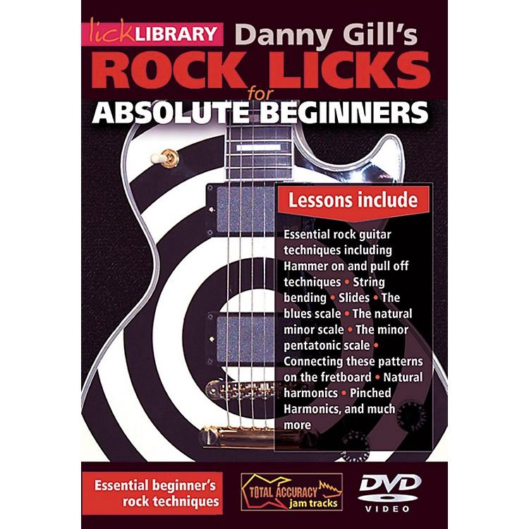Hal LeonardRock Licks For Absolute Beginners - Lick Library DVD