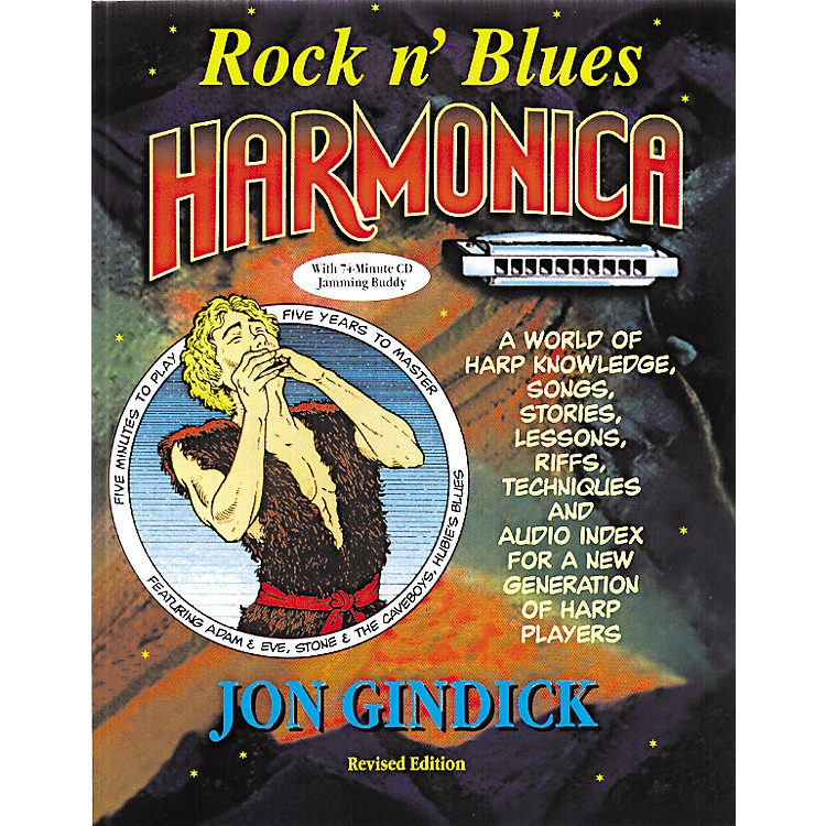 Music SalesRock N' Blues Harmonica (Book/CD)