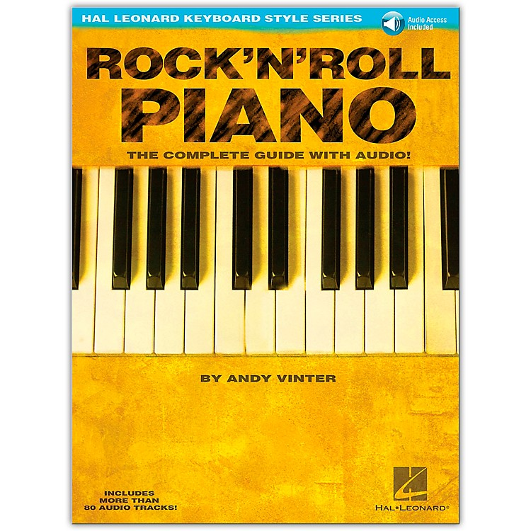 Hal Leonard Rock 'N' Roll Piano Book/CD Hal Leonard Keyboard Style Series
