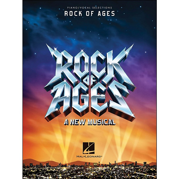 Hal Leonard Rock Of Ages - Piano/Vocal Selections arranged for piano, vocal, and guitar (P/V/G)