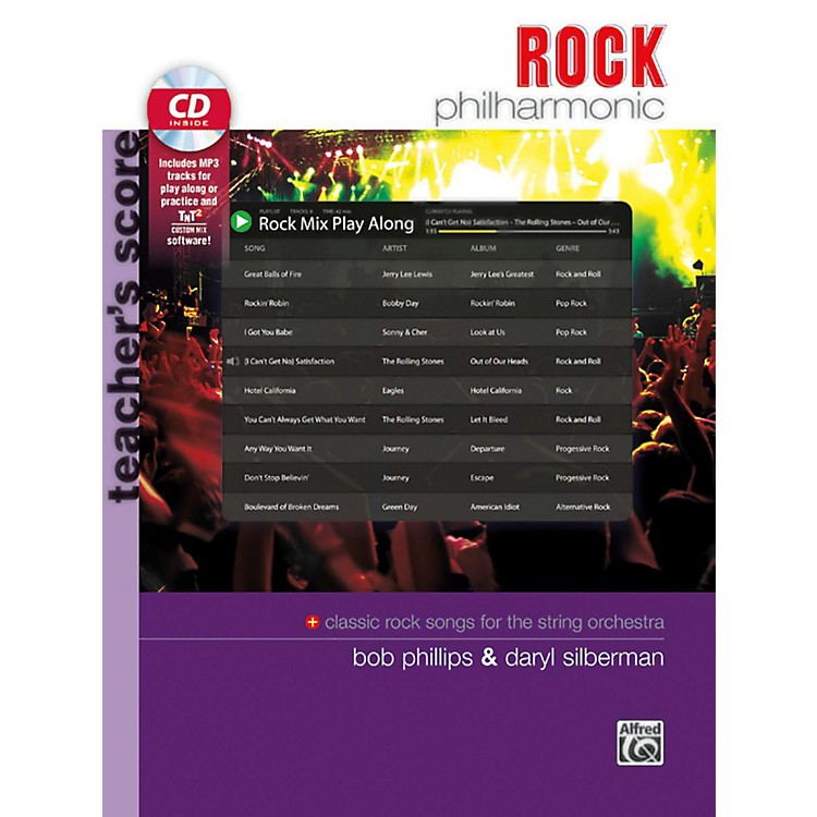 BELWIN Rock Philharmonic Teacher's Score Book & CD