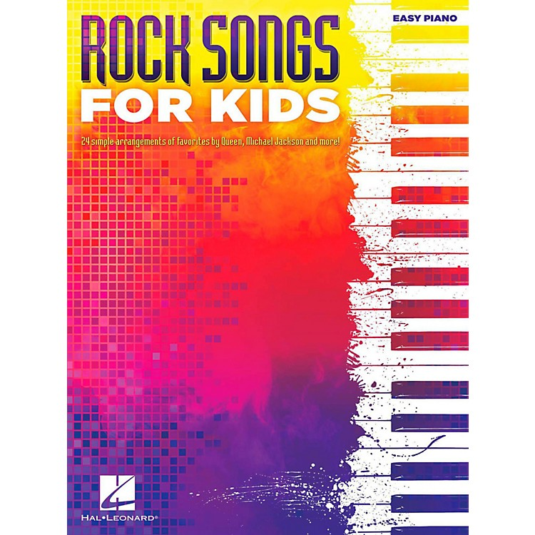 Hal LeonardRock Songs For Kids for Easy Piano