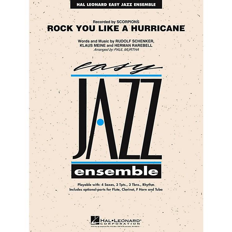 Hal LeonardRock You Like A Hurricane Jazz Band Level 2