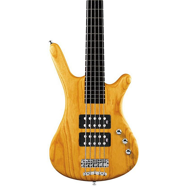 Warwick RockBass Corvette $$ 5-String Electric Bass Honey Violin Oil