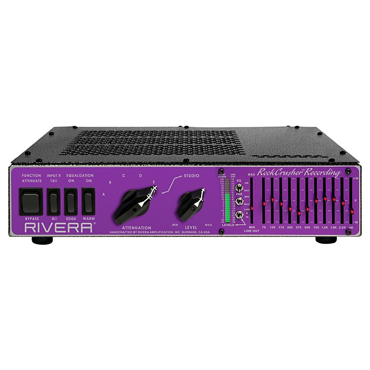 RiveraRockCrusher Recording Power Attenuator / Load Box / Speaker Emulator