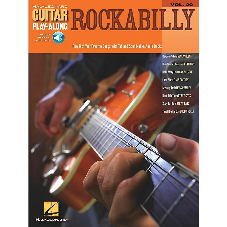 Hal LeonardRockabilly Guitar Play-Along Series Volume 20 Book with CD