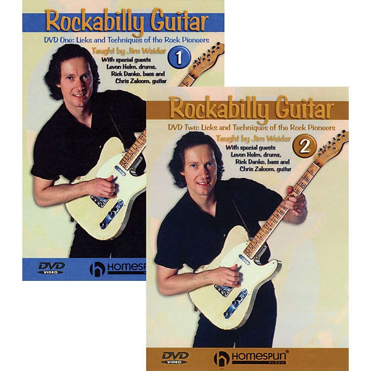 Homespun Rockabilly Guitar with Jim Weider 2 DVD Set
