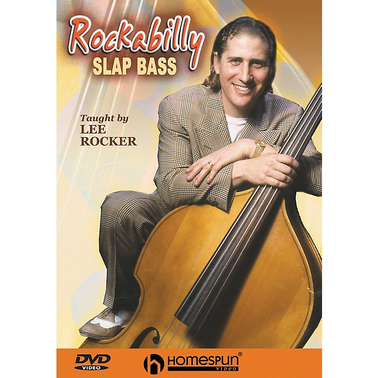 Homespun Rockabilly Slap Bass (DVD)