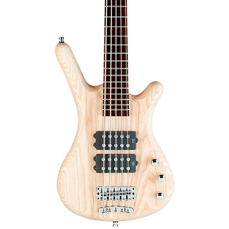 Warwick Rockbass Corvette 5-String Electric Bass Natural Satin