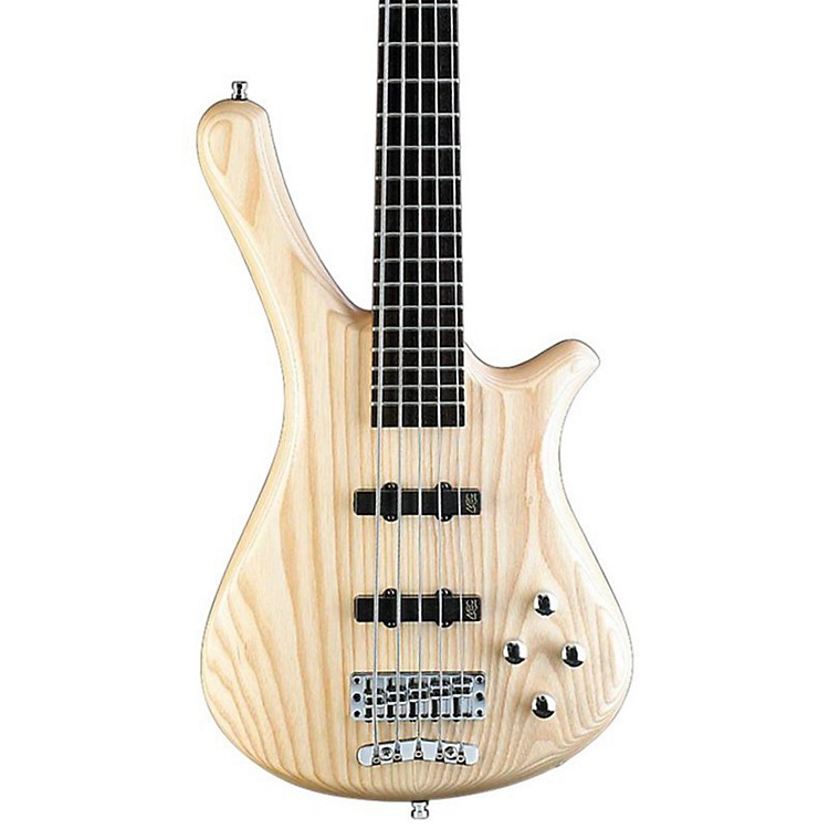 Warwick Rockbass Fortress 5-String Electric Bass Natural Satin
