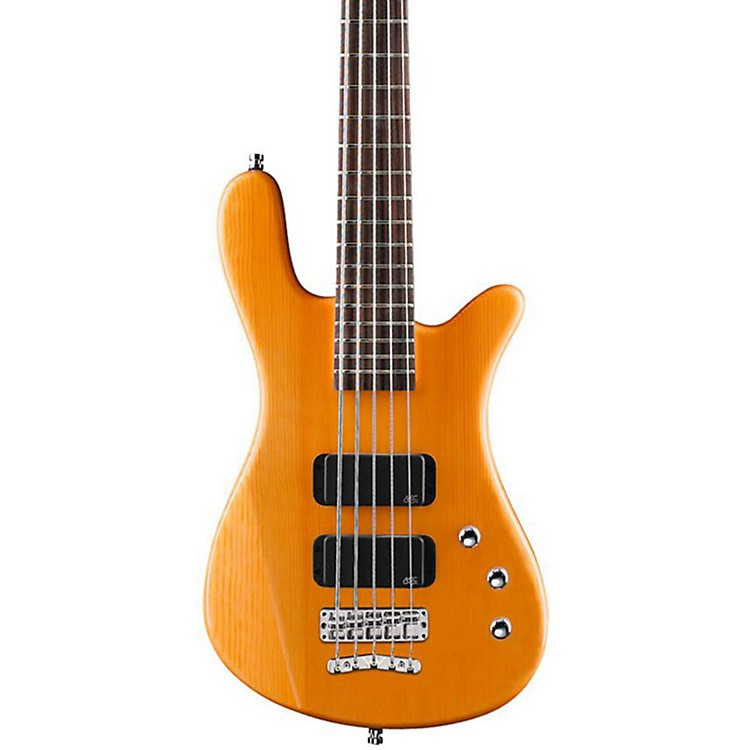 Warwick Rockbass Streamer Standard 5-String Electric Bass Guitar Honey Violin