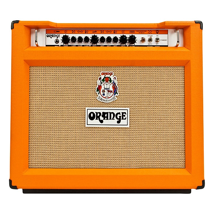 Orange Amplifiers Rockerverb 50 Series RK50TC 50W 2x12 Tube Guitar Combo Amp