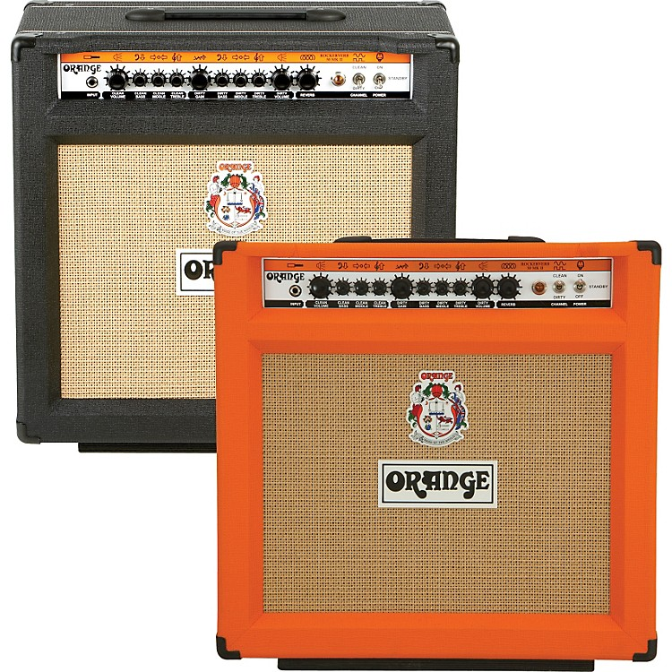 Orange Amplifiers Rockerverb 50C MK II 50W 1x12 Tube Guitar Combo Amp Orange