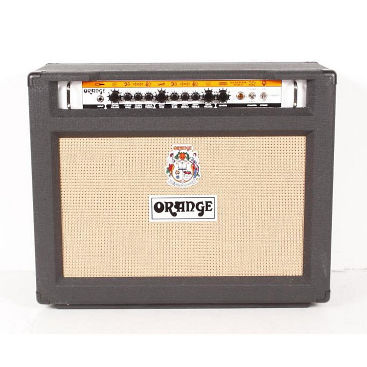 Orange Amplifiers Rockerverb RK50C MKII 50W 2x12 Tube Guitar Combo Amp Black 886830497872