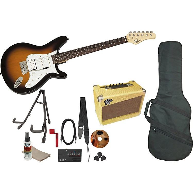 Rogue Rocketeer Deluxe Electric Guitar Pack