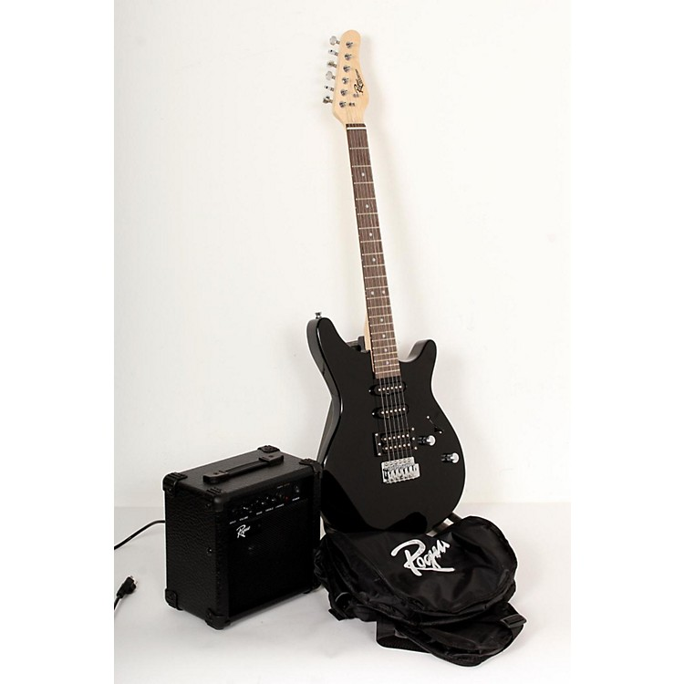 Rogue Rocketeer Electric Guitar Pack Black 888365769172