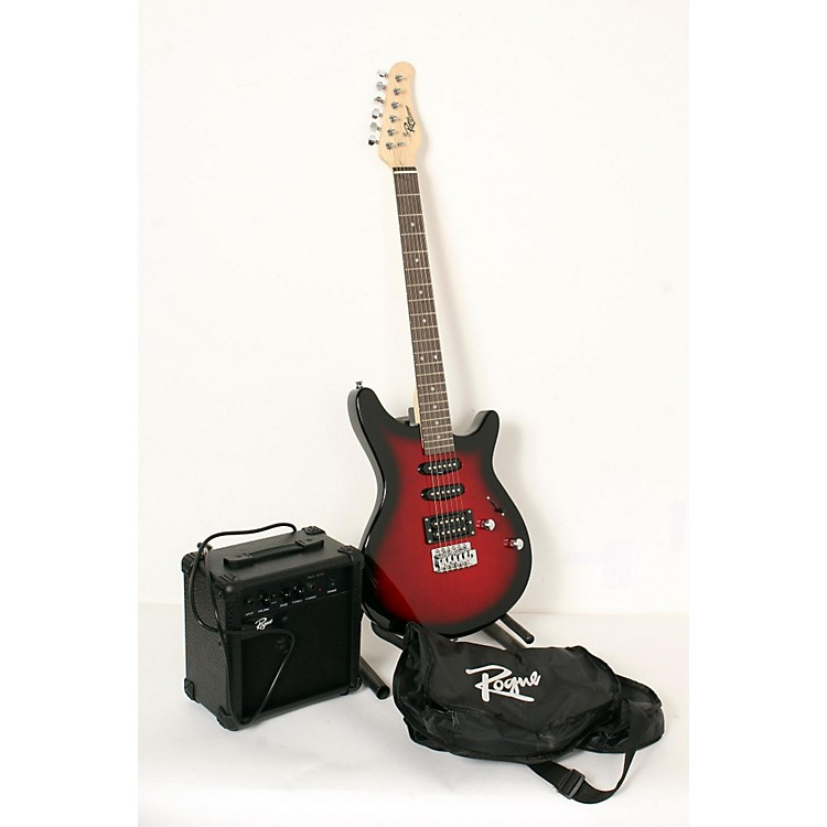 RogueRocketeer Electric Guitar PackRed Burst888365840505