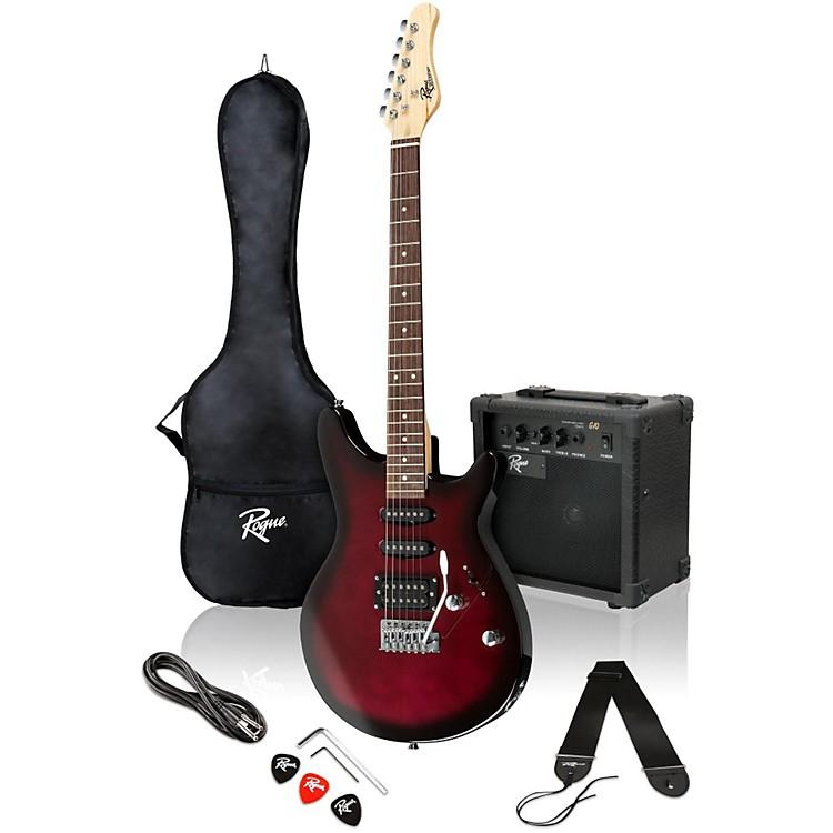 RogueRocketeer Electric Guitar PackWine Burst