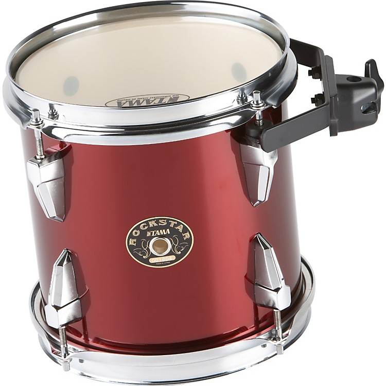 Tama Rockstar Split-Lug Tom and Clamp 8x7 Vintage Red