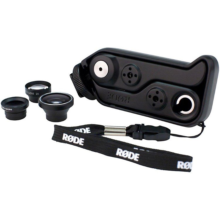 Rode Microphones RodeGrip+ Multi-Purpose Mount & Lens Kit for iPhone