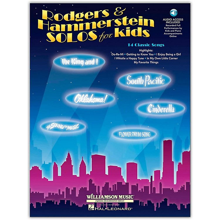 Hal Leonard Rodgers & Hammerstein Solos for Kids Book/CD
