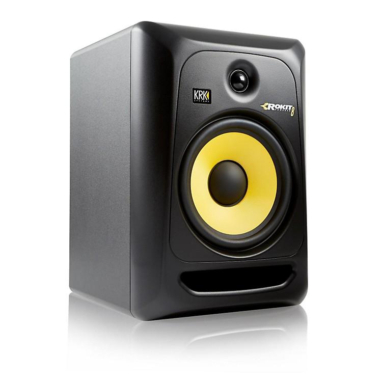 krk rokit powered 8 generation 3 powered studio monitor music123. Black Bedroom Furniture Sets. Home Design Ideas
