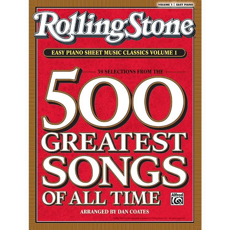 AlfredRolling Stone Easy Piano Sheet Music Classics Volume 1 (Book)