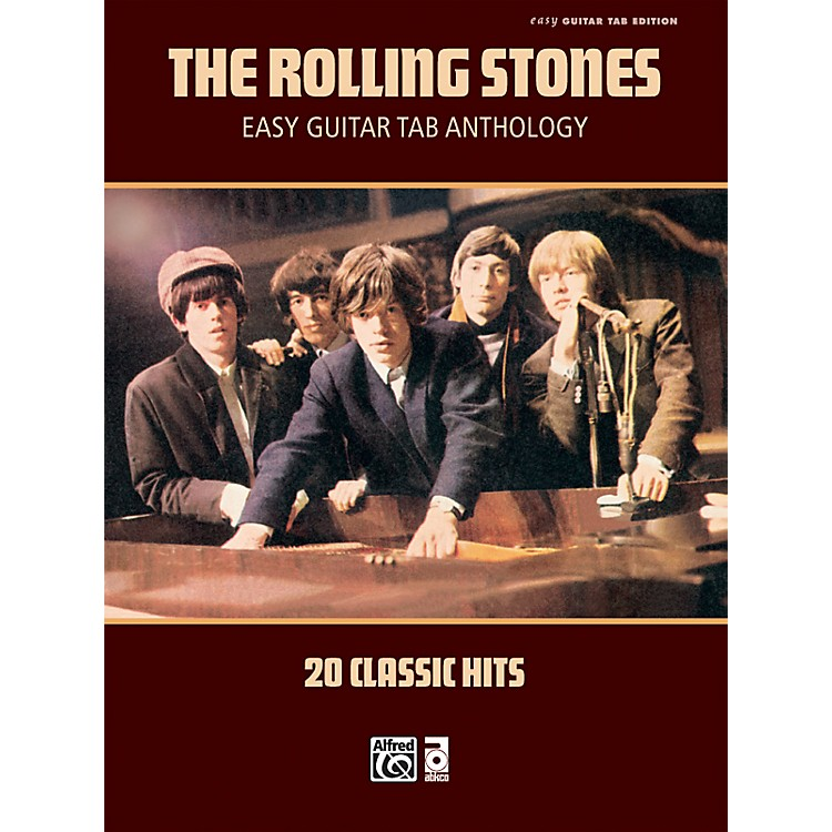 AlfredRolling Stones - Easy Guitar Tab Anthology - Book