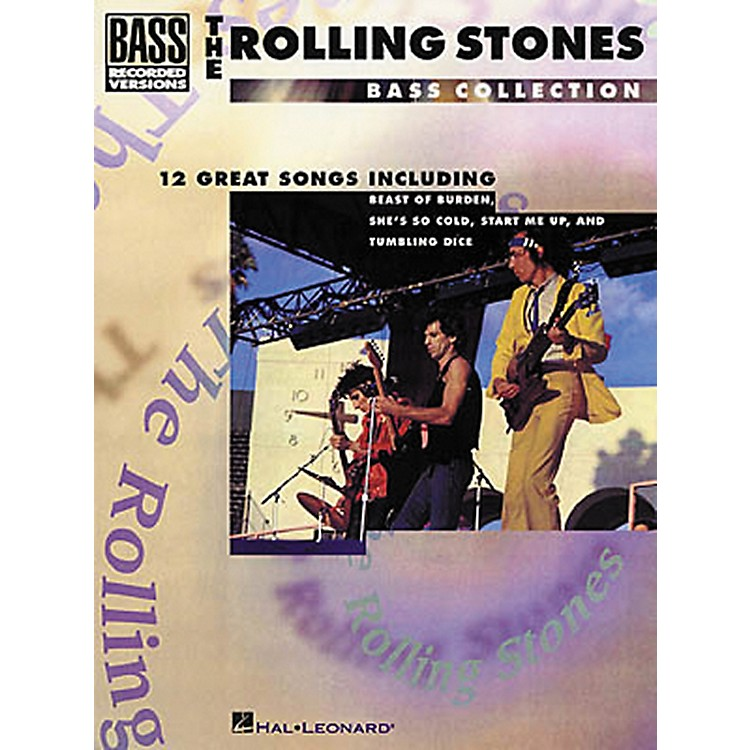 Hal LeonardRolling Stones Bass Collection Bass Guitar Tab Songbook
