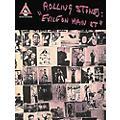 Hal Leonard Rolling Stones Exile on Main Street Guitar Tab Songbook