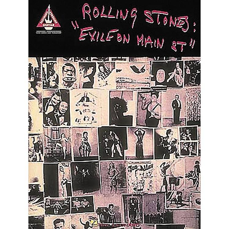 Hal LeonardRolling Stones Exile on Main Street Guitar Tab Songbook