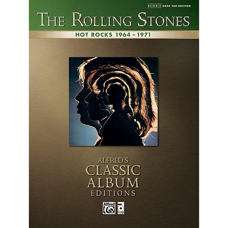 AlfredRolling Stones Hot Rocks - Bass Tab Book