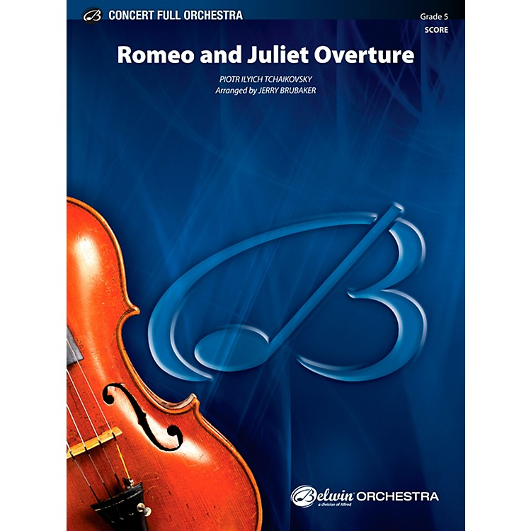 Alfred Romeo and Juliet Overture Concert Full Orchestra Grade 5 Set