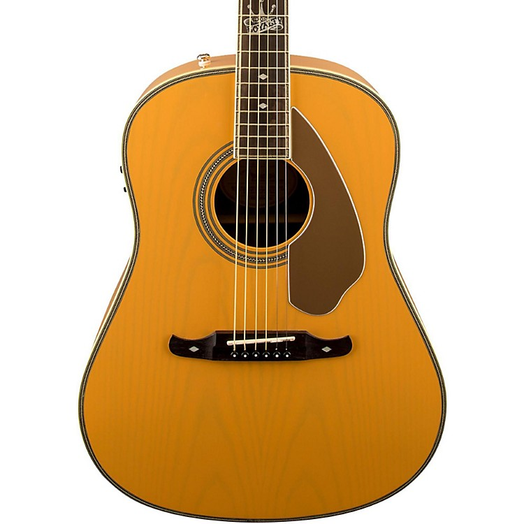 Fender Ron Emory Loyalty Slope Shoulder Acoustic-Electric Guitar Blonde