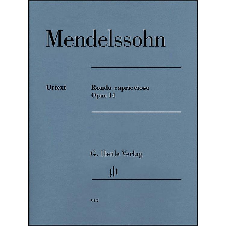 G. Henle VerlagRondo Capriccioso Op. 14 Piano Solo By Mendelssohn