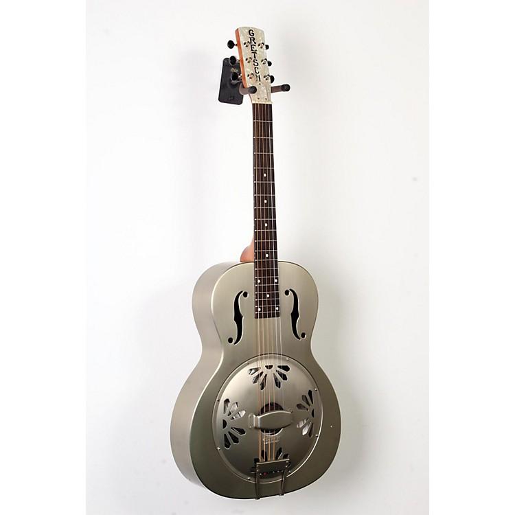 Gretsch GuitarsRoot Series G9201 Honeydipper Metal Round Neck ResonatorNickel Plated Brass Body888365894218