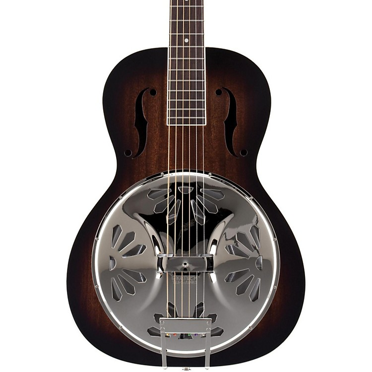Gretsch Guitars Root Series G9220 Bobtail Round Neck Acoustic/Electric Resonator 2-Tone Sunburst