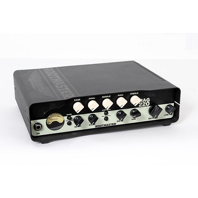 Ashdown Rootmaster 220W Bass Head Regular 888365855127