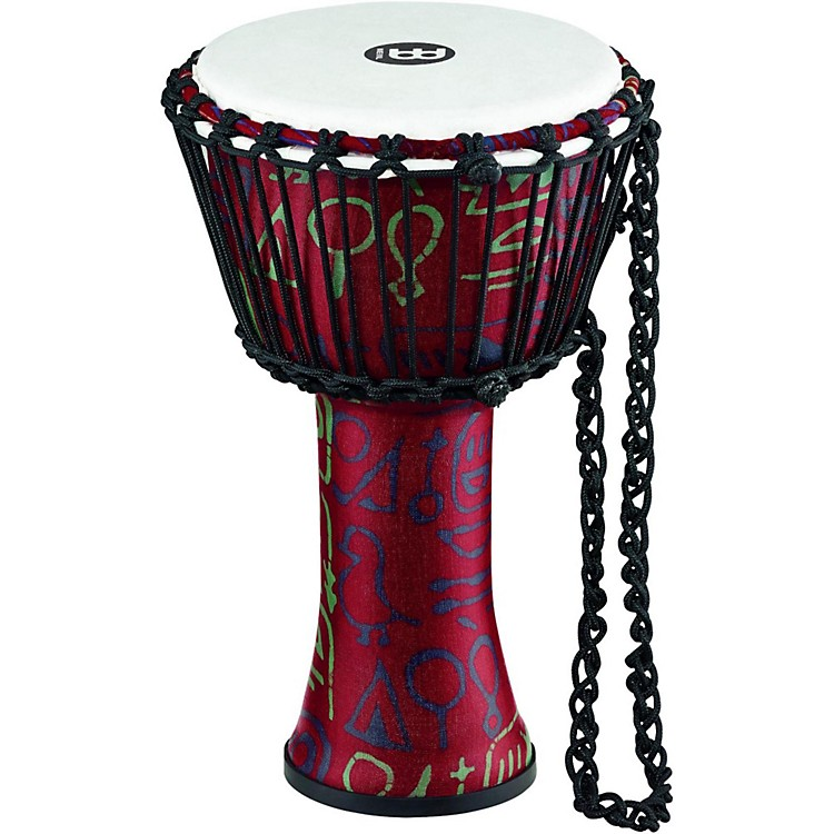 Meinl Rope Tuned Djembe with Synthetic Shell 8 in. Pharaoh's Script