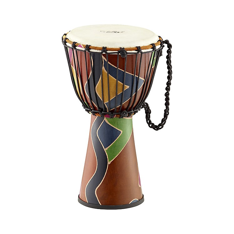 Schalloch Rope-Tuned Fiberglass Djembe 10 in. Safari Finish
