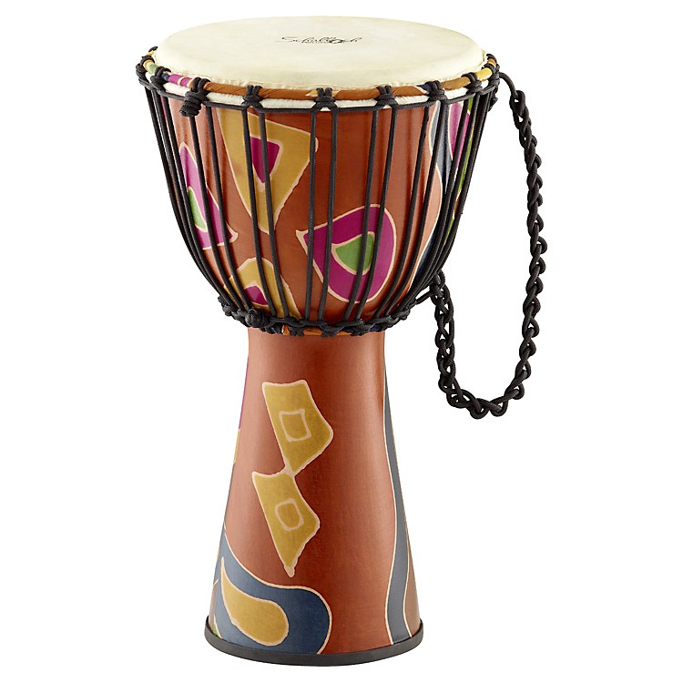 Schalloch Rope-Tuned Fiberglass Djembe 12 in. Safari Finish
