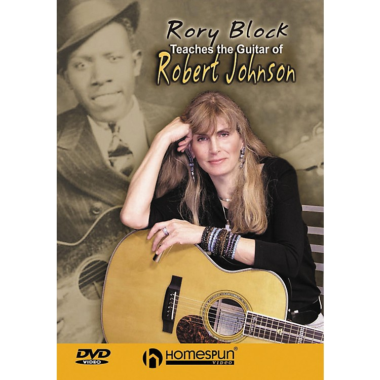 Homespun Rory Block Teaches The Guitar of Robert Johnson DVD